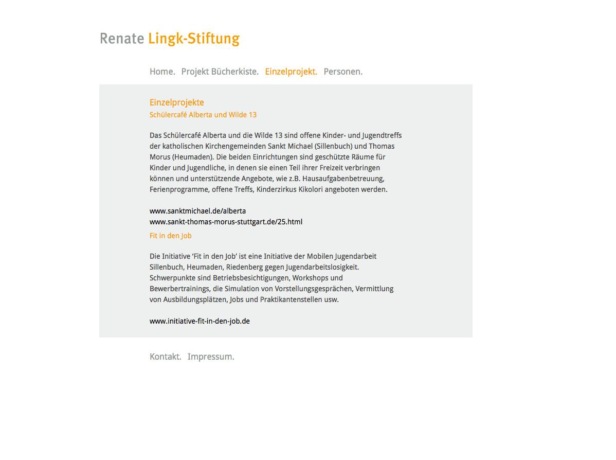 Renate Lingk-Stiftung