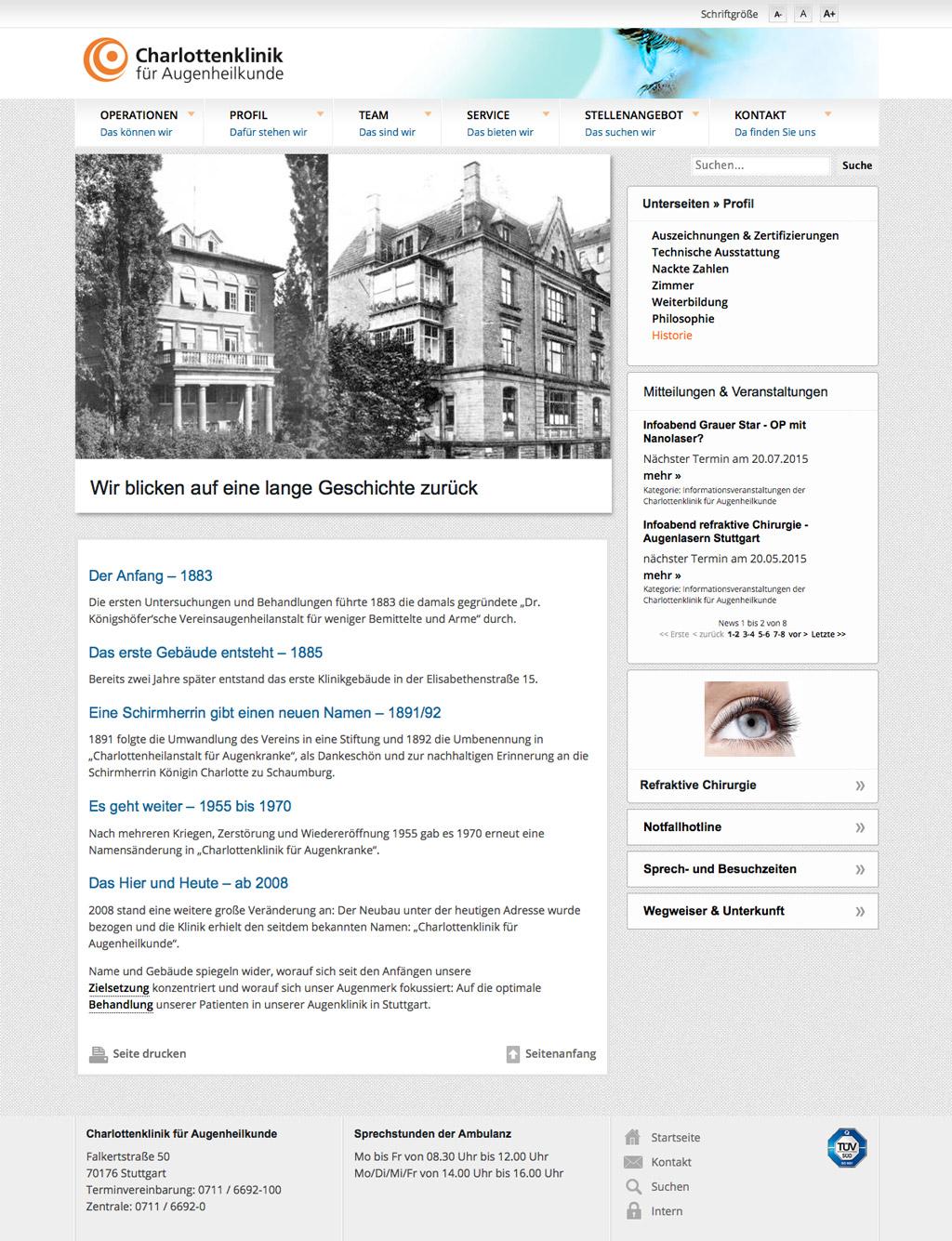Charlottenklinik für Augenheilkunde