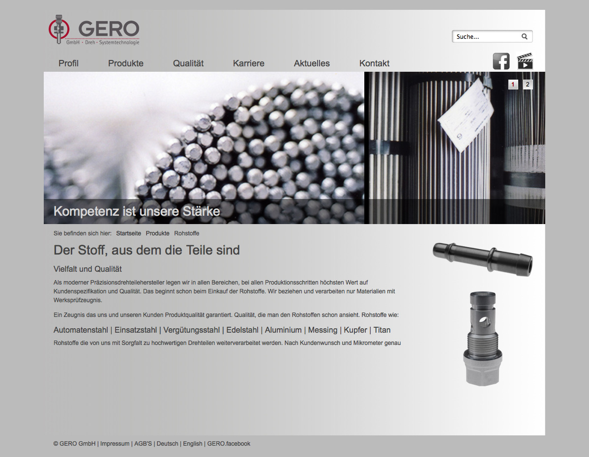GERO GmbH | Dreh – und Systemtechnologie