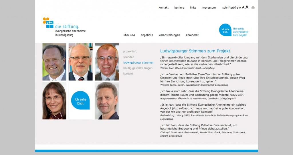 Stiftung Evangelische Altenheime Ludwigsburg