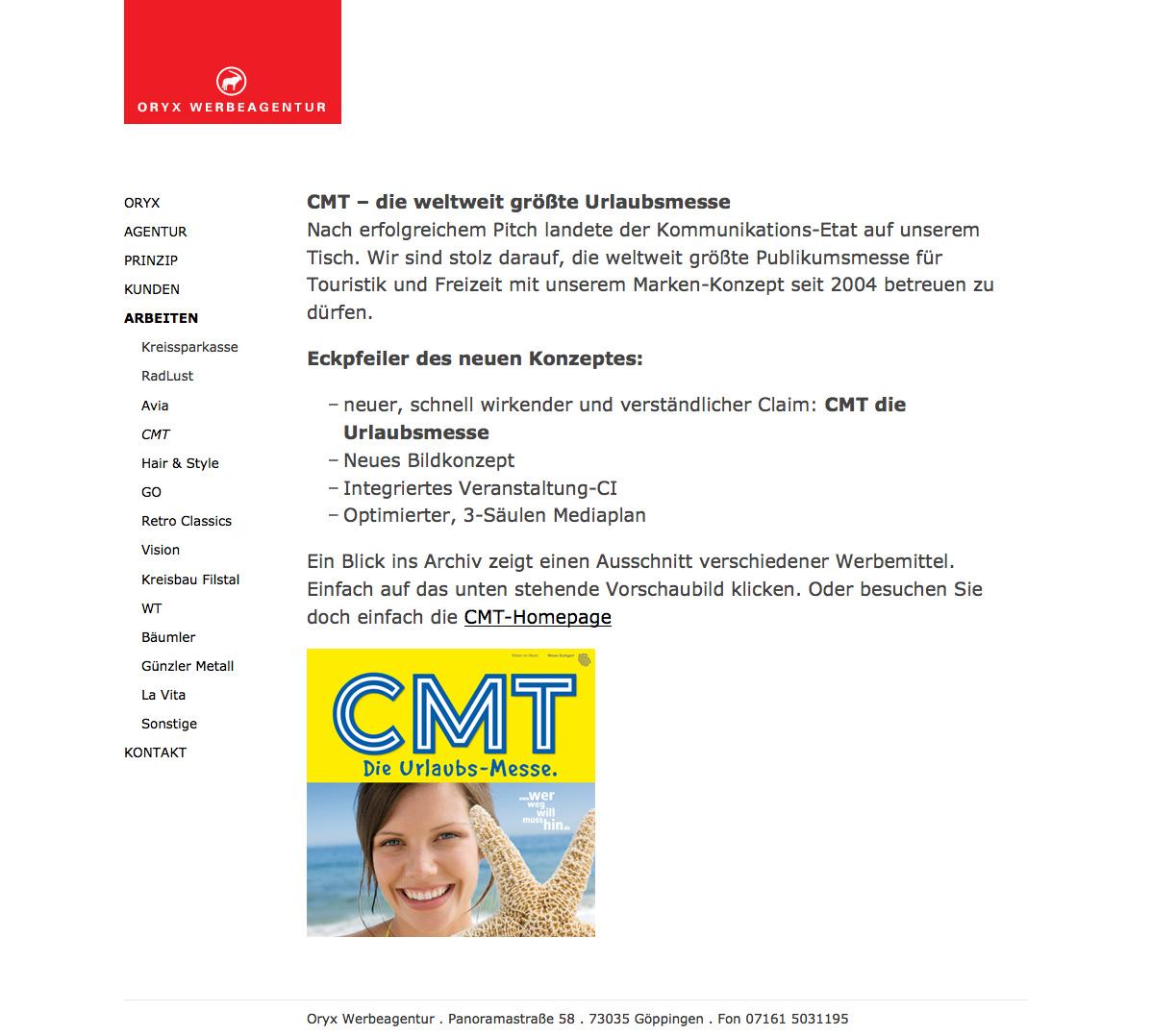 Oryx Werbeagentur in Göppingen