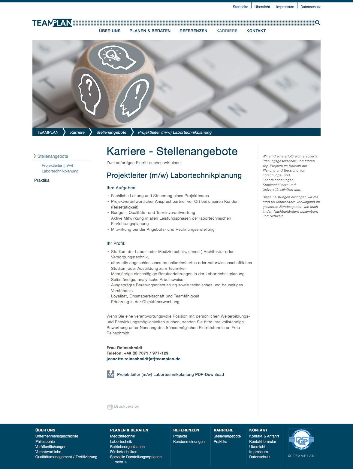 TEAMPLAN GmbH Tübingen