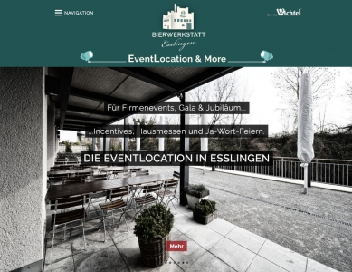EventLocation Esslingen powered by Wichtel Hausbrauerei